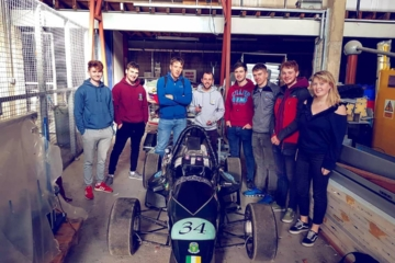The Team with the 2005 FS Car